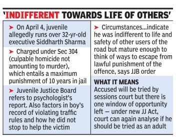 similarities in adult and juvenile offenders