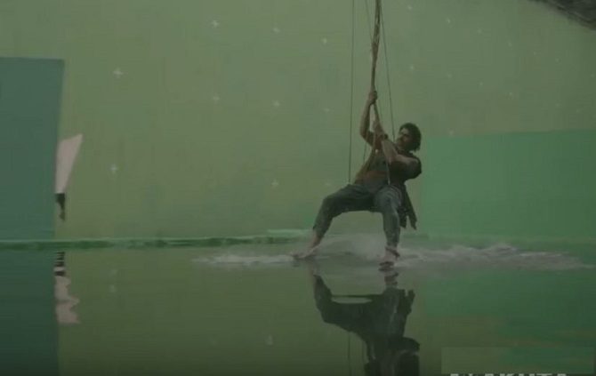 File:Baahubali 2 The Conclusion gliding over water in the studio.jpg
